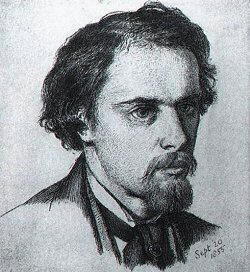 Disegno Dante Gabriel Rossetti