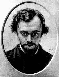 Dipinto Dante Gabriel Rossetti