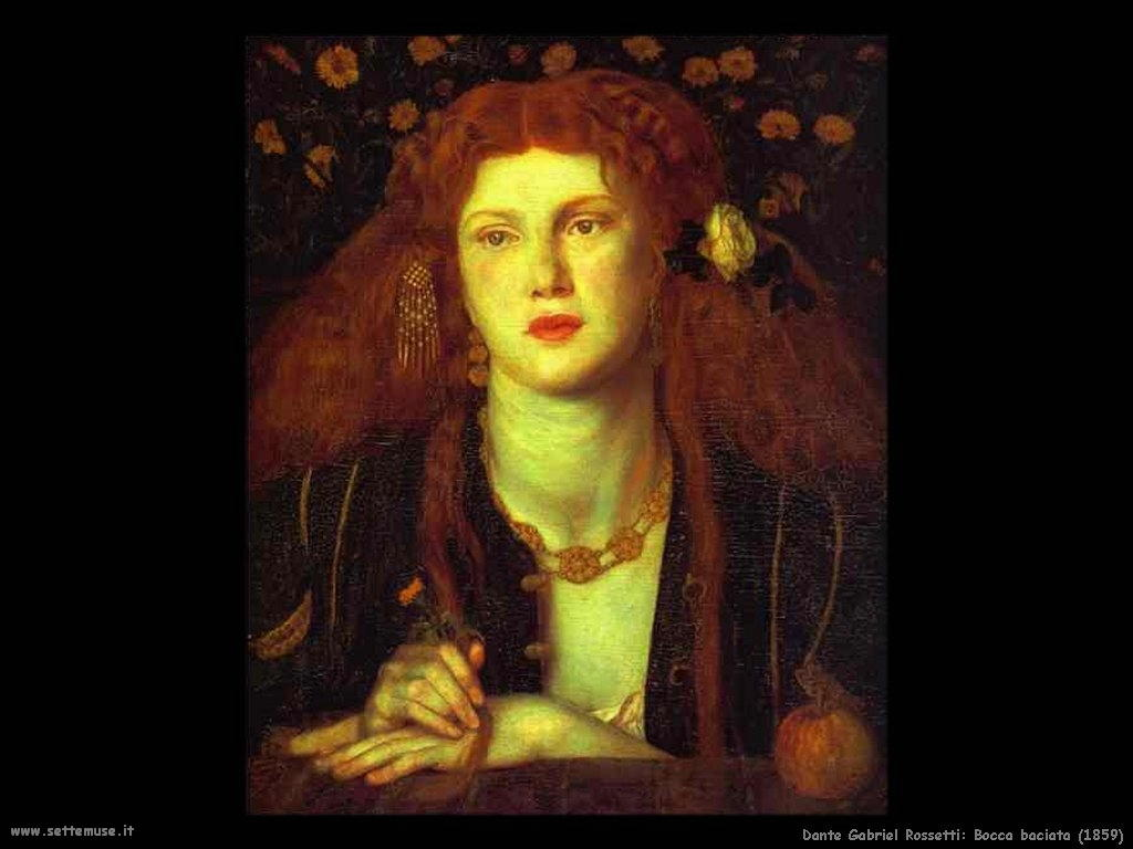 Dante Gabriel Rossetti_bocca_baciata_1859