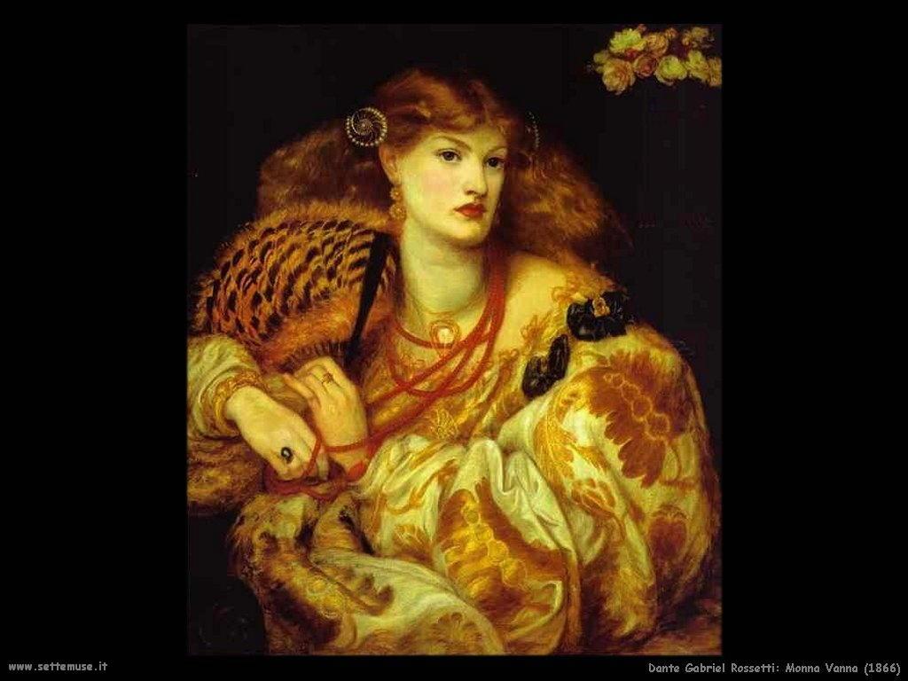 Dante Gabriel Rossetti_monna_vanna_1866
