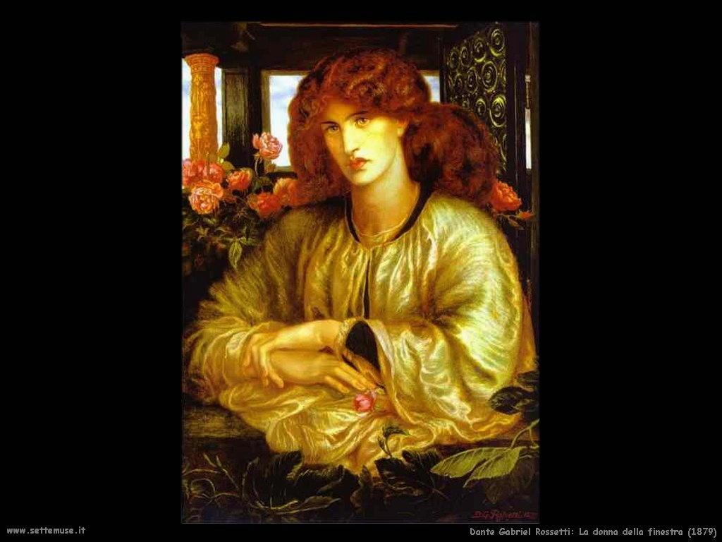 Dante Gabriel Rossetti_la_donna_della_finestra_1879