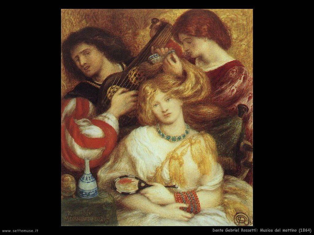 dante_gabriel_rossetti_morning_music_1864