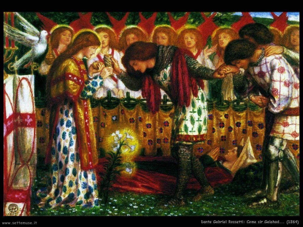 Dante Gabriel Rossetti_how_sir_galahad_1864