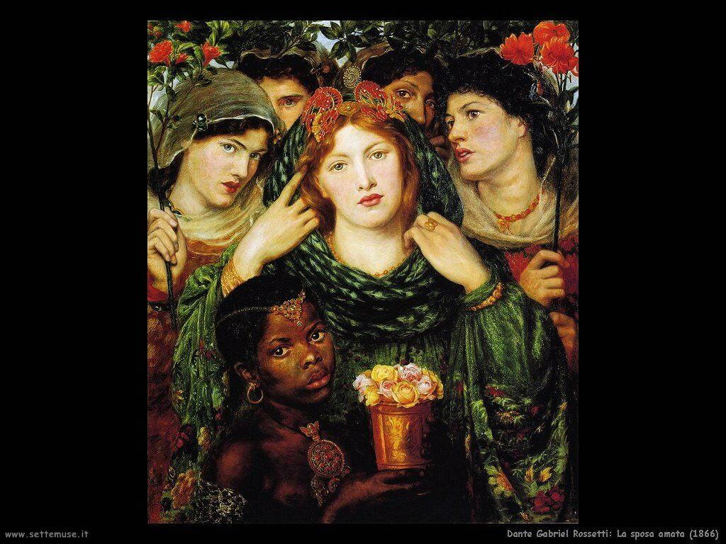 dante_gabriel_rossetti_la sposa adorata_1866