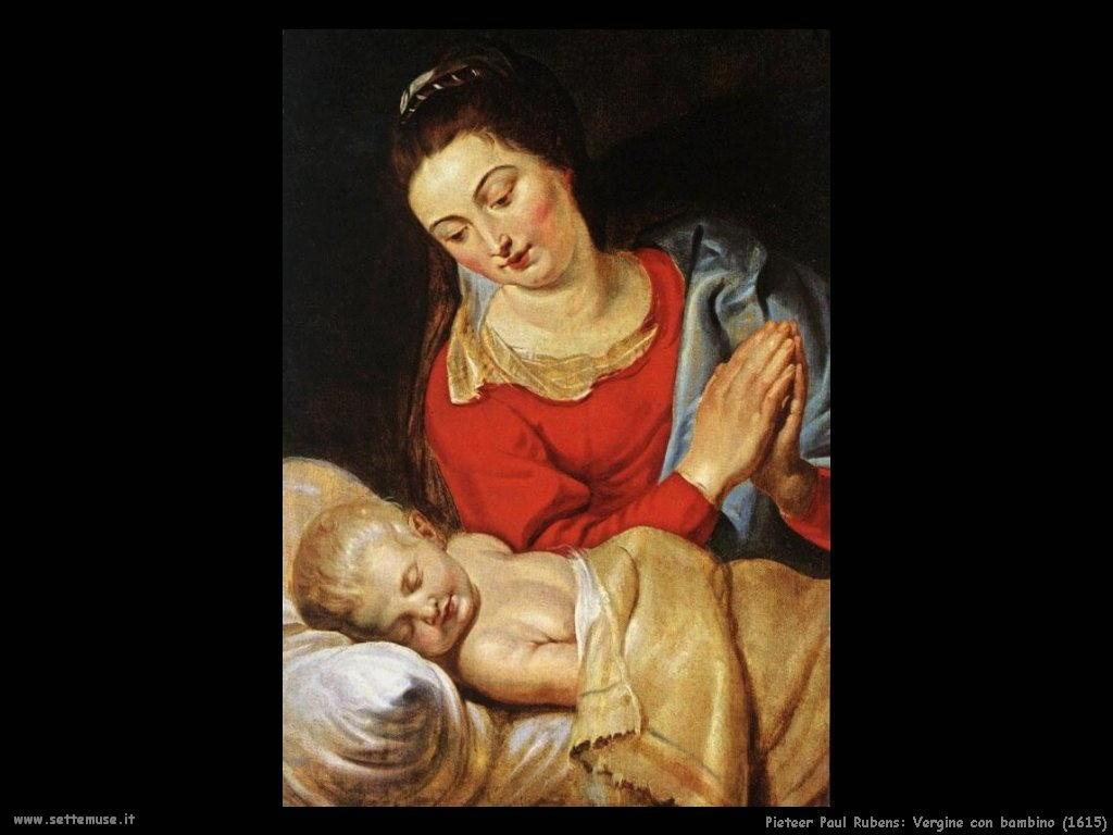 Pieter Paul Rubens_vergine_con_bambino_1615
