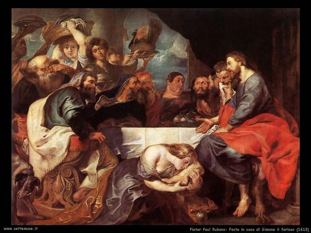 Pieter Paul Rubens_festa_in_casa_di_simone_il_fariseo_1618