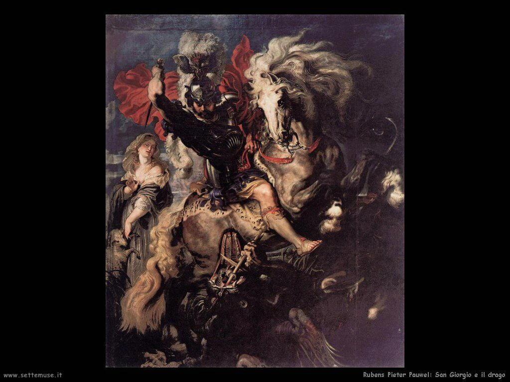 San Gregorio e il drago