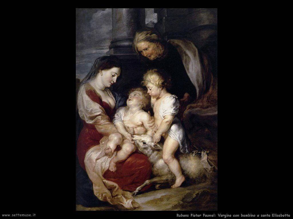 Vergine con bambino e santa Elisabetta