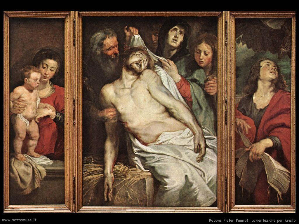 Lamentazione per Cristo