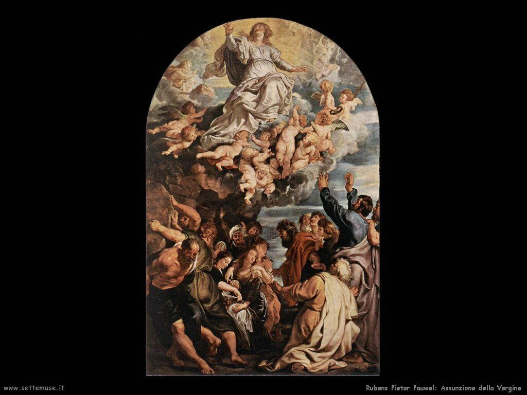 Assunzione di Maria di Rubens