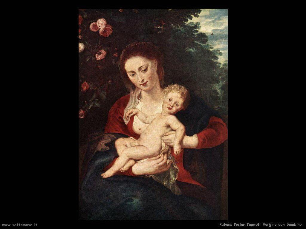 Vergine con bambino