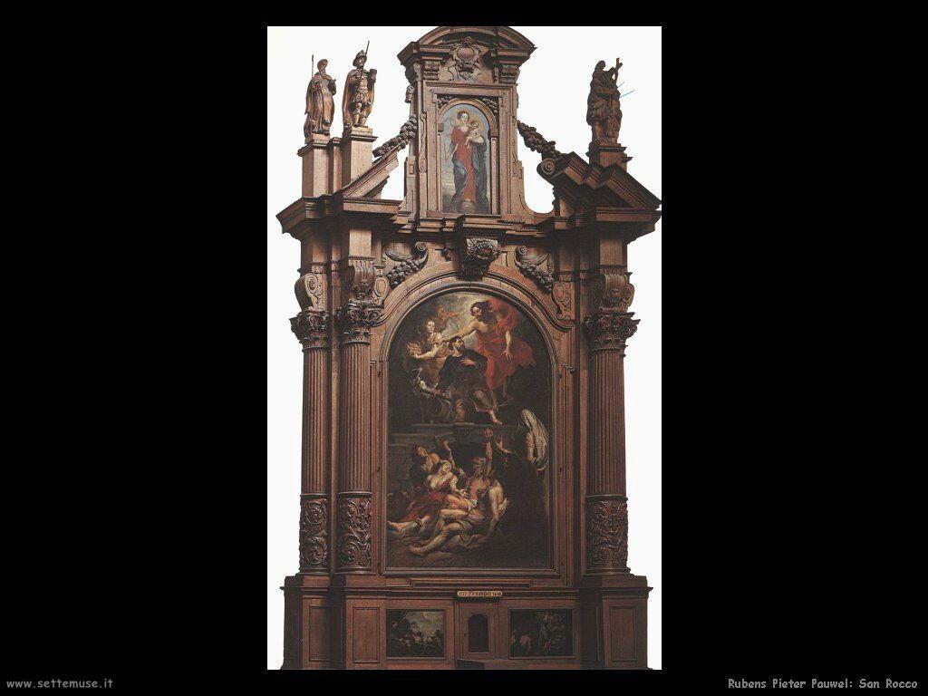 San Rocco pala d'altare