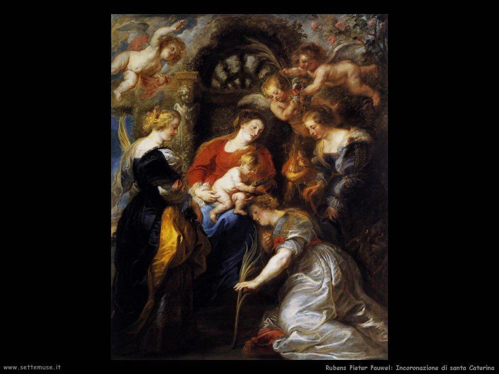 Incoronazione di santa Caterina