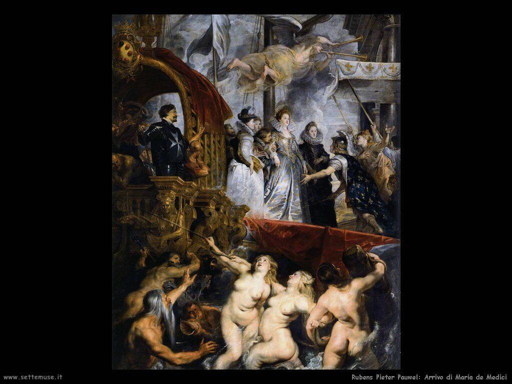 Arrivo di Maria de Medici