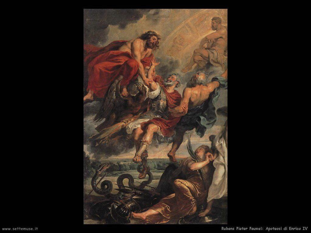 Apoteosi di Enrico IV