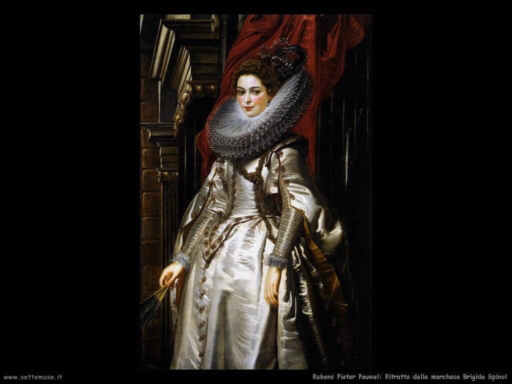 Ritratto della marchesa Brigida Spinola