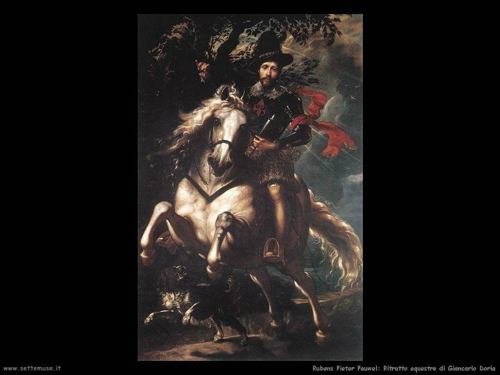 Ritratto equestre di Giancarlo Doria