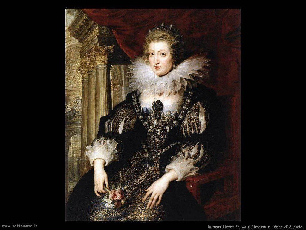Ritratto di Anna d'Austria