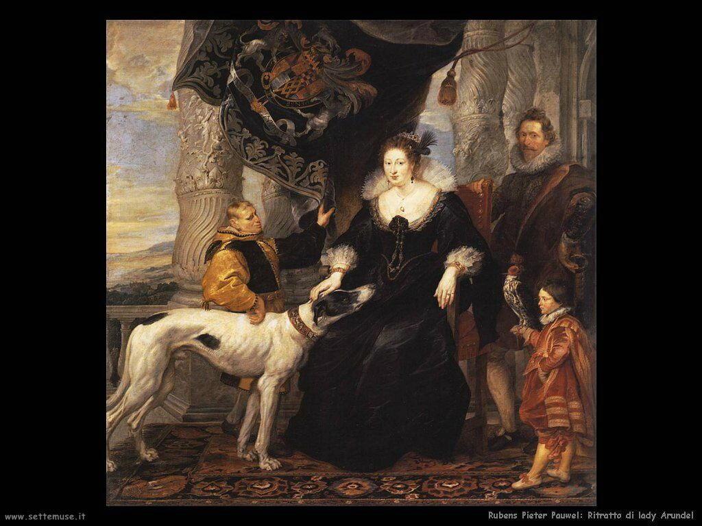 Ritratto di lady Arundel