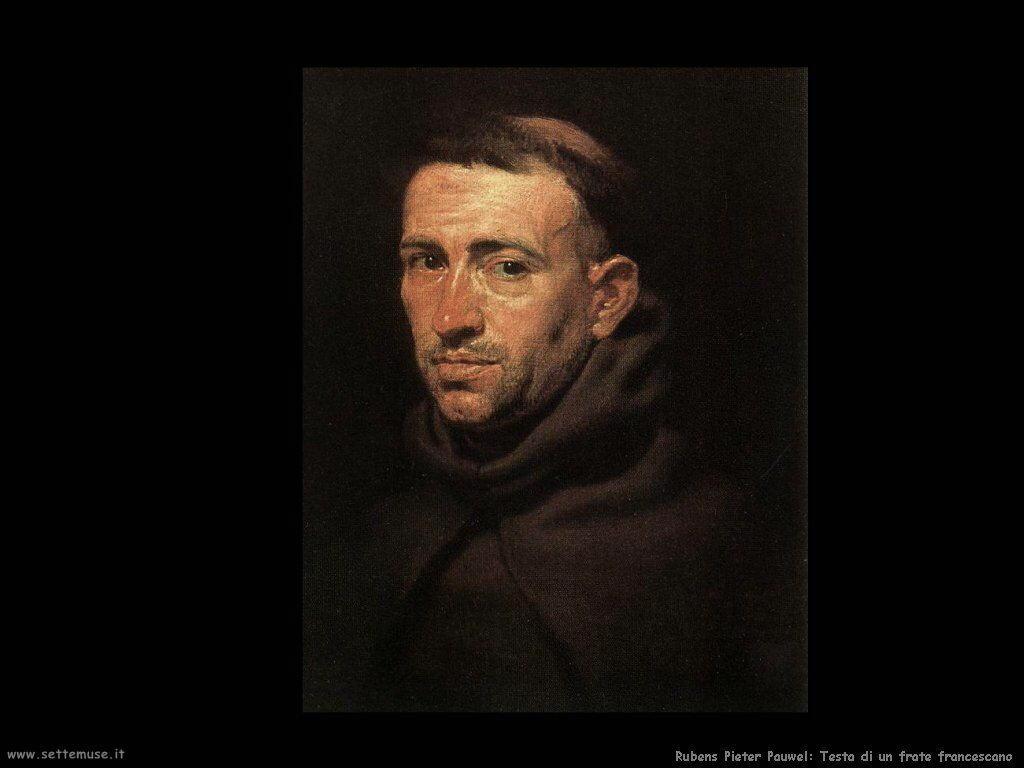 Testa di un frate francescano
