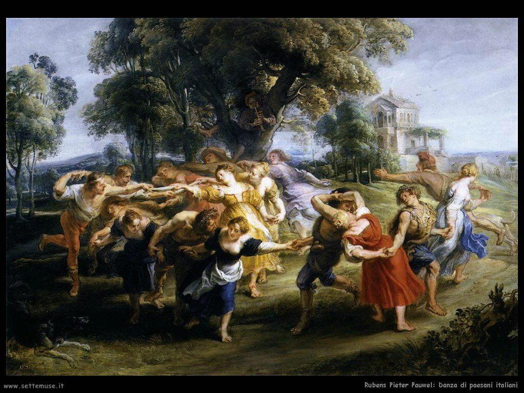 Danza di paesani italiani