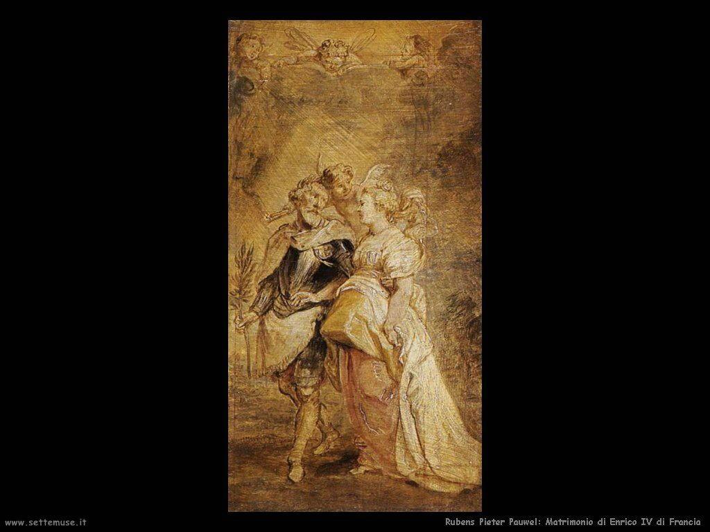 Il matrimonio di Enrico IV di Francia