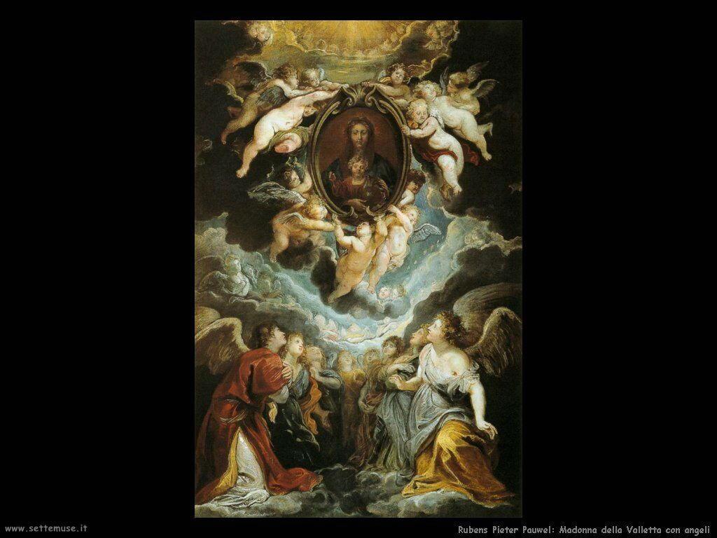Madonna della Valletta con angeli