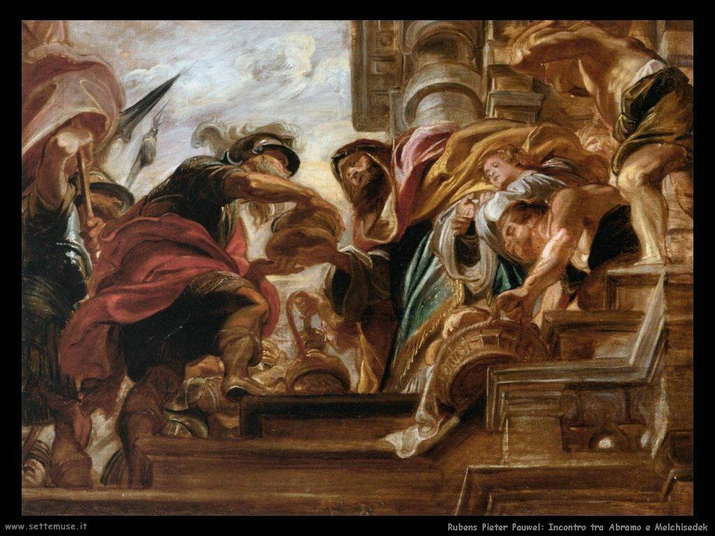 Incontro di Abramo e Melchisedek