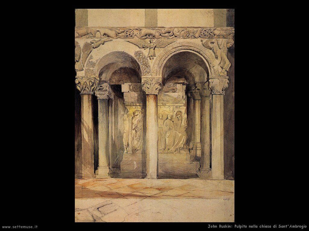 john_ruskin_001_the_pulpit_in_the_church_of_s_ambrogio