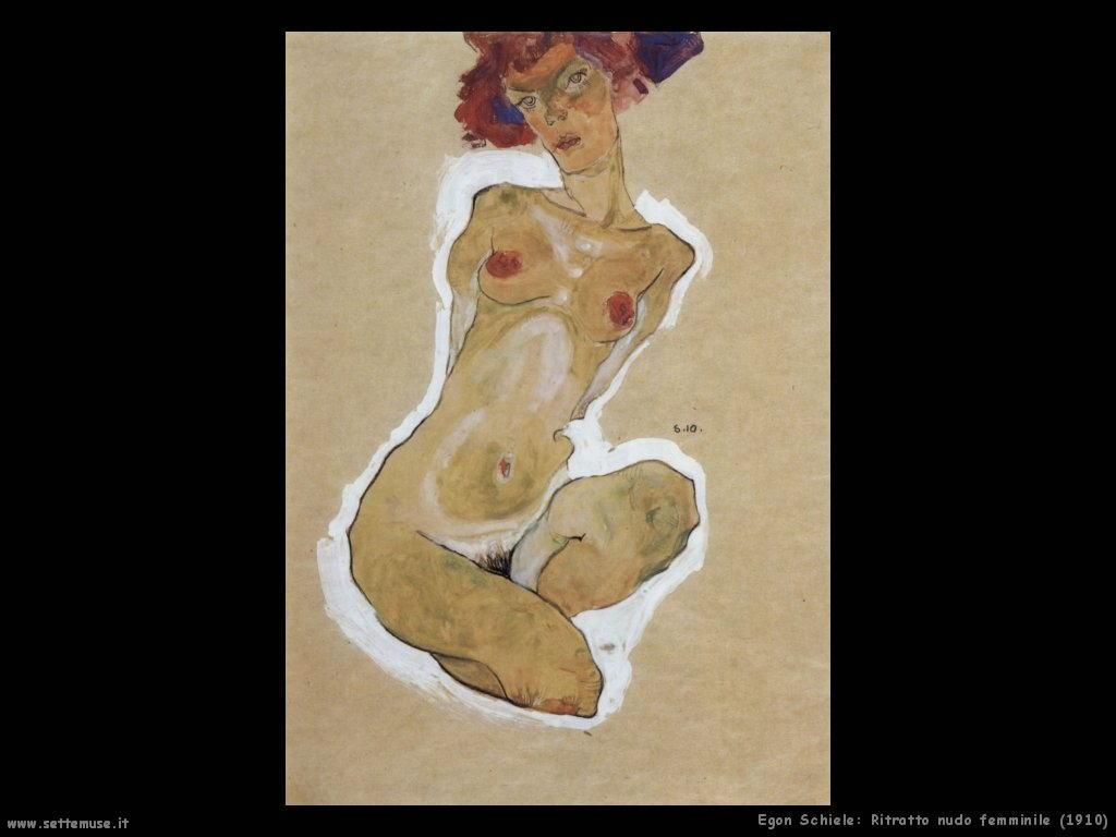 egon schiele nudo_femminile_1910
