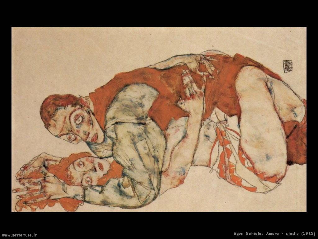 egon schiele amore_studio_1915