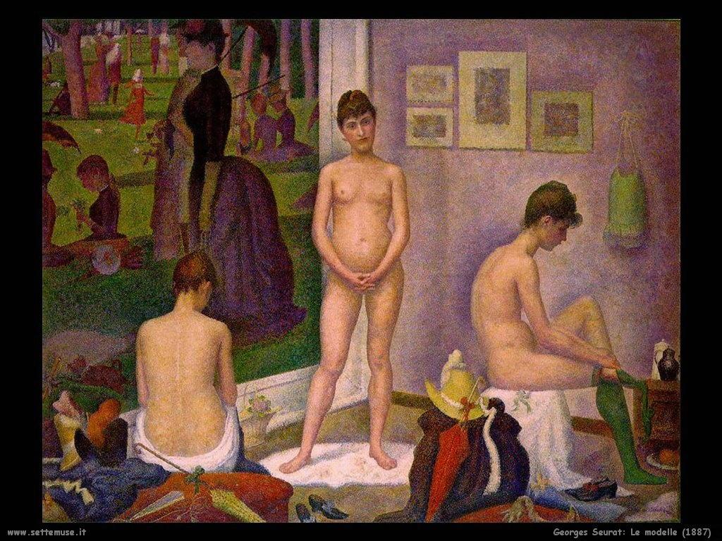 Le modelle (1887)