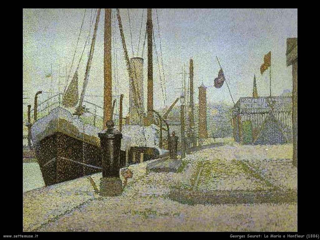 La Maria ad Honfleur (1886)