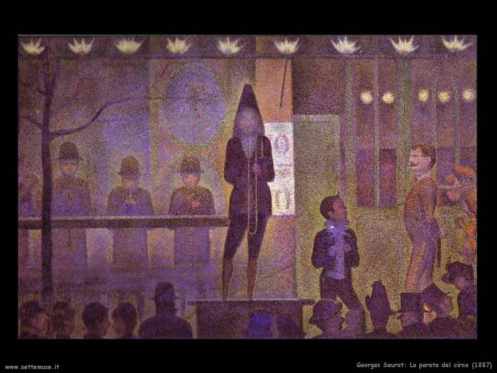 La parata del circo (1887)