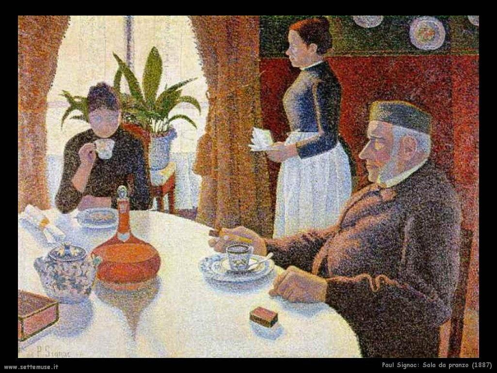 PAUL SIGNAC Pittore Biografia Opere Quadri Settemuse.it #975D34 1024 768 La Cucina Disegni Per Bambini