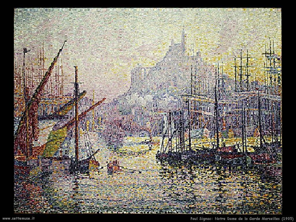 paul_signac_Notre_Dame_de_la_Garde_Marseilles_1905