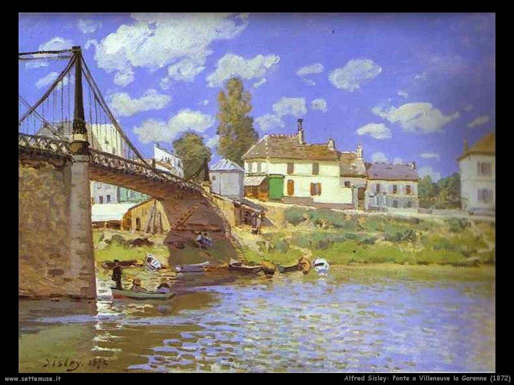 Alfred Sisley_ponte_a_Villeneuve_la_garenne_1872