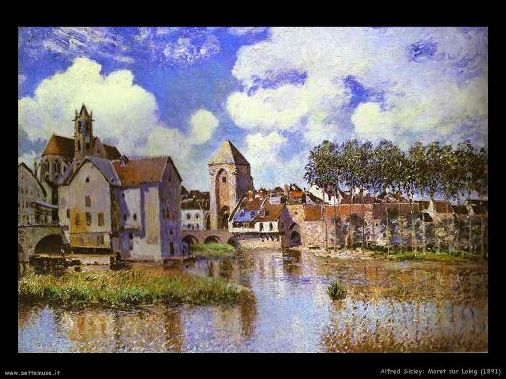 Alfred Sisley_moret_sur_loing_1891