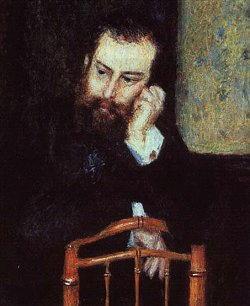 Autoritratto Alfred Sisley