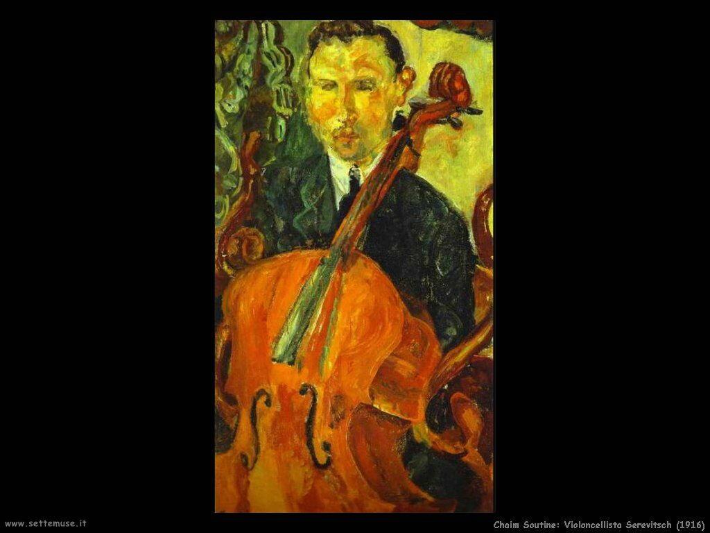 Violoncellista Serevitsch (1916)