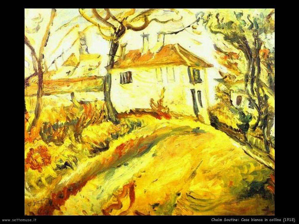Casa bianca in collina (1918)