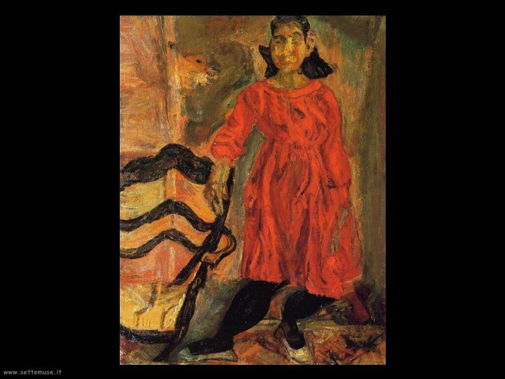 Ragazza in rosso (1919)
