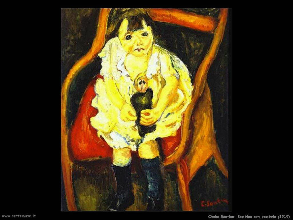 Bambina con bambola (1919)