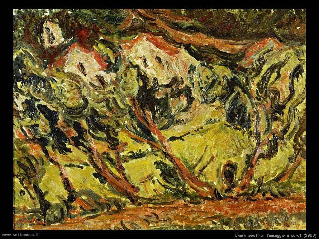Paesaggio a Ceret (1920)