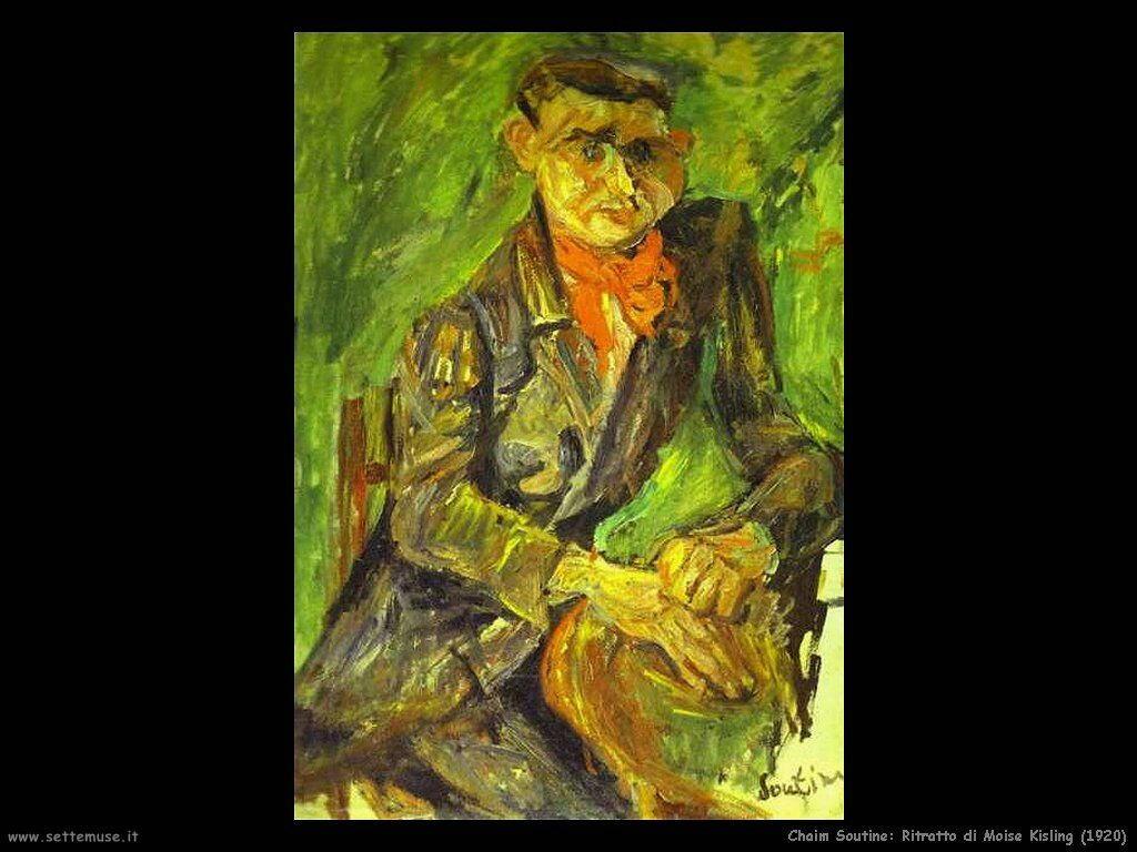 Ritratto di Moise Kisling (1920)