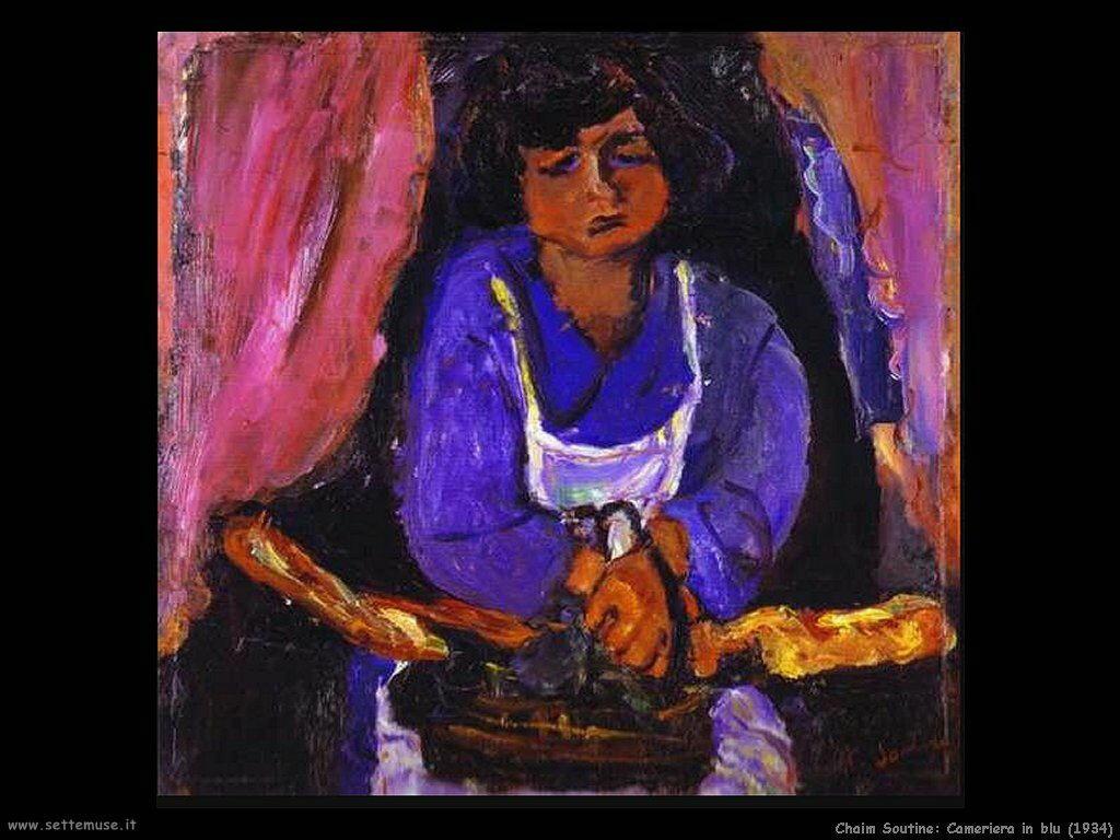 Cameriera in blu (1934)