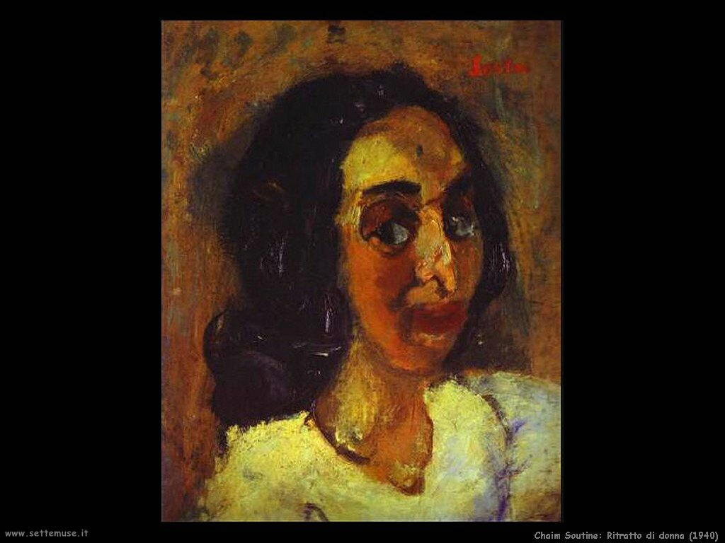 Ritratto di donna (1940)