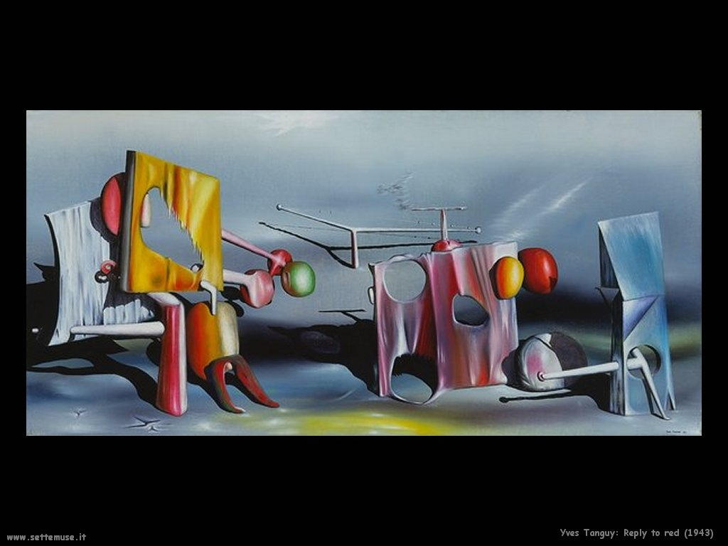 yves_tanguy Rispondi al rosso (1943)