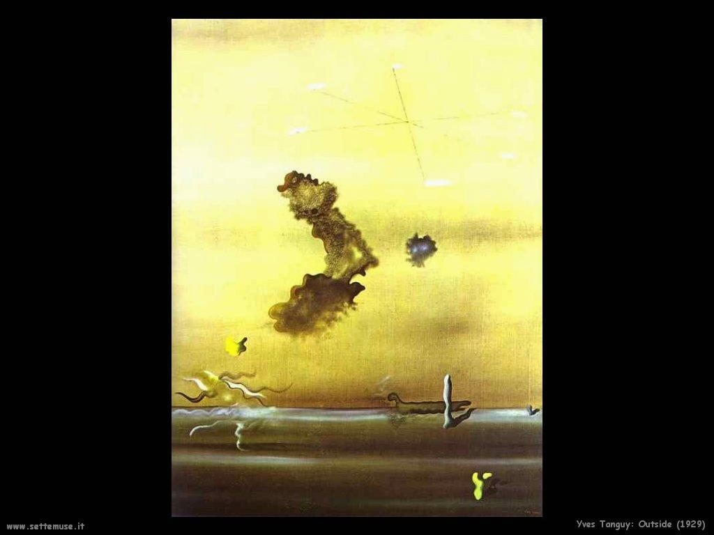 yves_tanguy Fuori (1929)