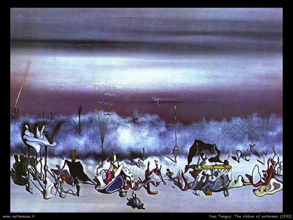 yves_tanguy_Il nastro degli estremi (1932)